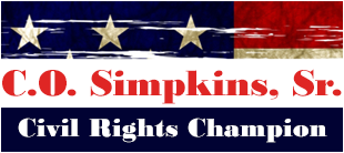 C.O. Simpkins, Sr. - Civil Rights Champion
